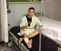 Хорхе Лоренсо в больнице