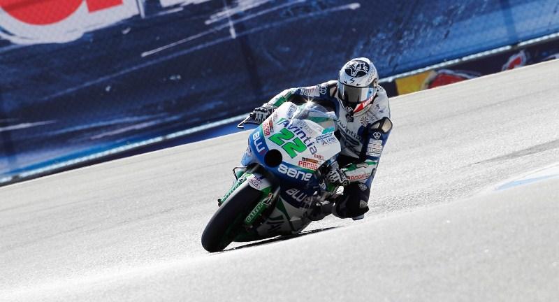 Иван Сильва MotoGP Гран-При США 2012