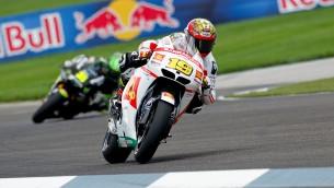 Альваро Баутиста, гонщик San Carlo Honda Gresini