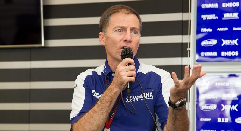 управляющий директор Yamaha Racing Лин Джарвис