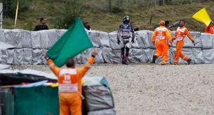 Падение Бэна Списа Гран-При Чехии в Брно 2012