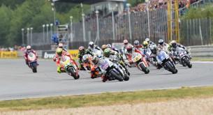 Старт гонки MotoGP Гран-При Чехии в Брно