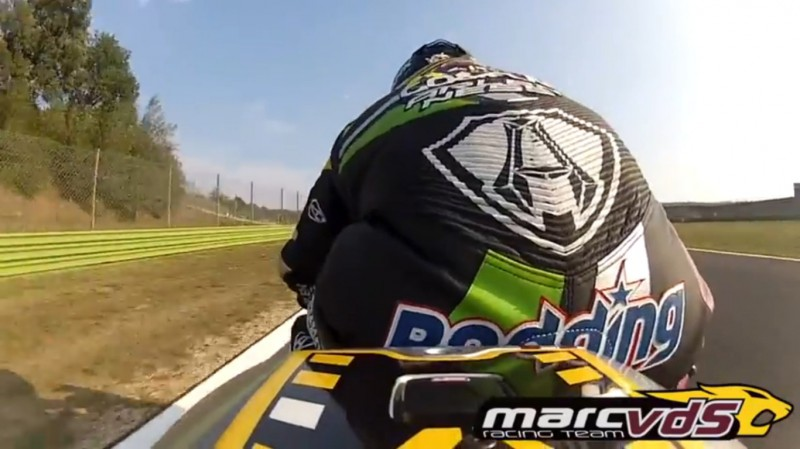 Гонщик Marc VDS Racing Team Скотт Реддинг