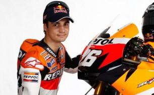Дани Педроса, гонщик заводской команды MotoGP Repsol Honda