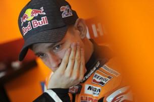 Кейси Стоунер, гонщик команды MotoGP Repsol Honda Team