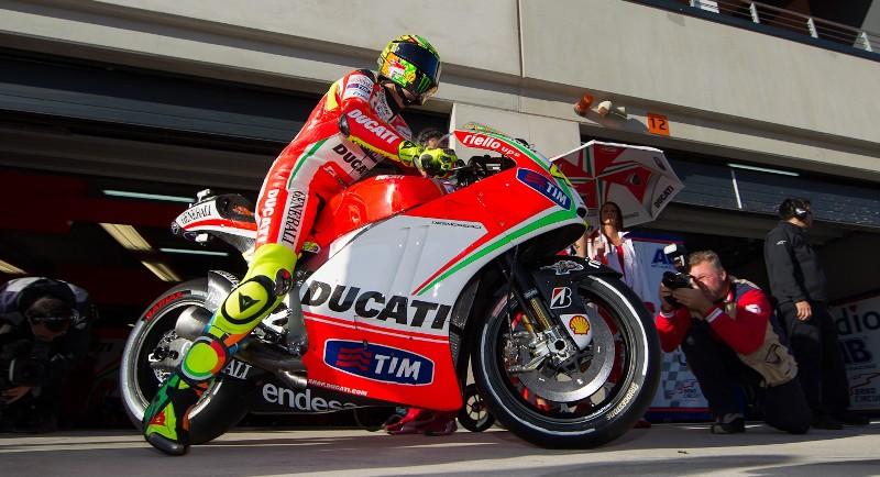 гонщик Ducati Team MotoGP Валентино Росси