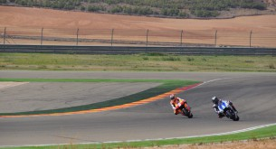 Джонатан Ри и Бэн Спис тест Арагон MotoGP 2012