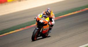 Джонатан Ри тест Арагон MotoGP 2012
