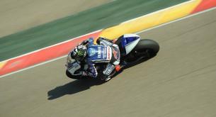 Бэн Спис тест Арагон MotoGP 2012