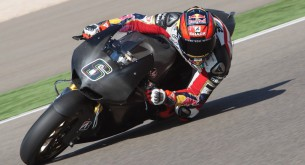 Штефан Брадль тест Арагон MotoGP 2012