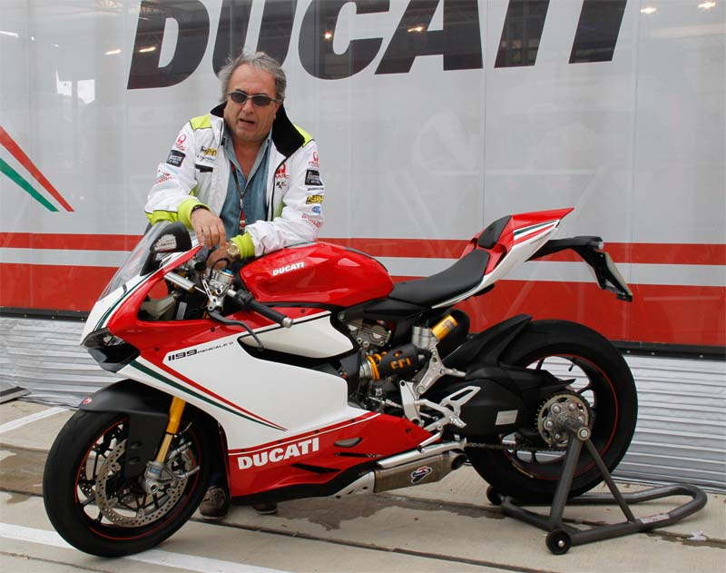 Карло Пернат, менеджер команды Pramac Ducati