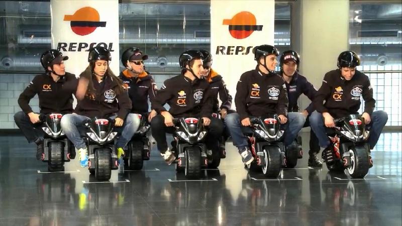 Эпическая битва гонщиков Repsol