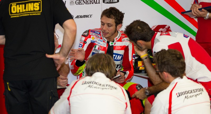 Гонщик Ducati Team Валентино Росси
