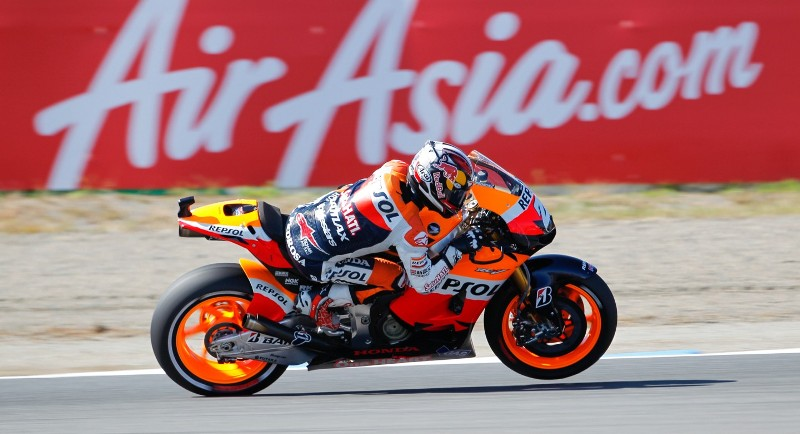 Пилот заводской команды MotoGP Repsol Honda Team Дани Педроса
