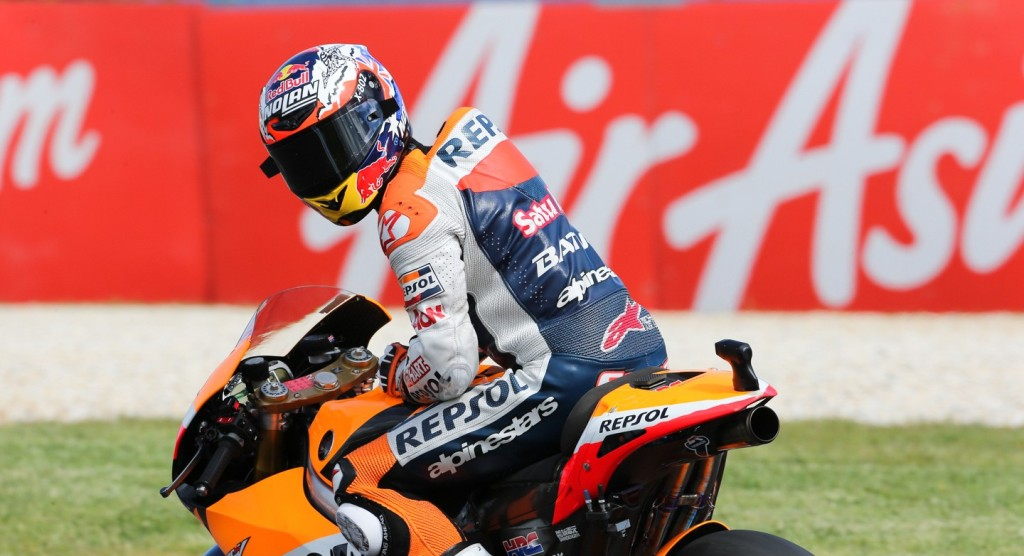 Гонщик Repsol Honda Team Кейси Стоунер