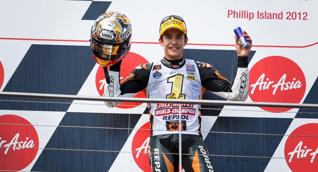 чемпион мира в классе Moto2 Марк Маркес