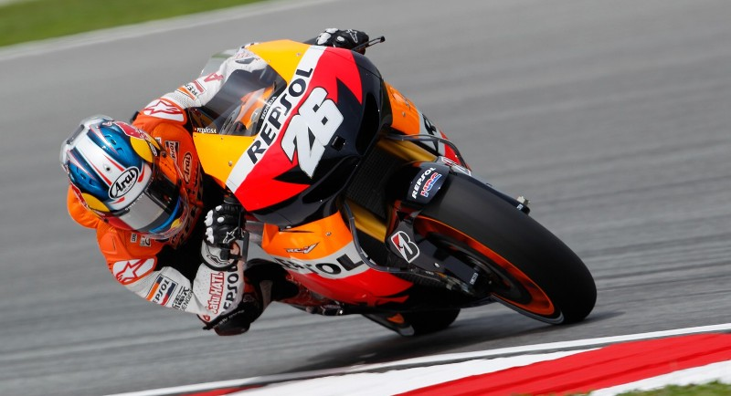 Пилот Repsol Honda Team Дани Педроса