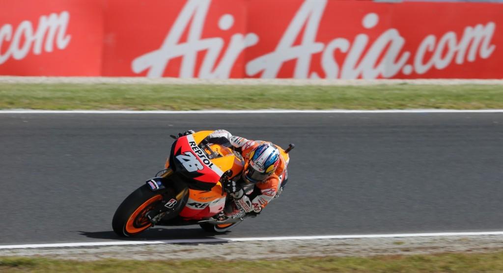 гонщик MotoGP Дани Педроса
