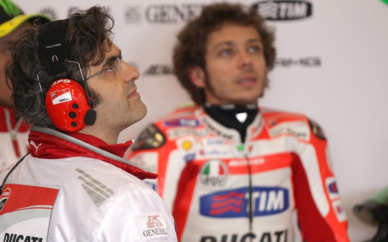 Филиппо Прециози и Валентино Росси