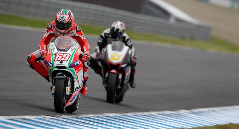 Пилот Ducati MotoGP Ники Хэйден