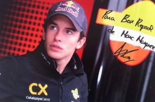 Гонщик команды CatalunyaCaixa Repsol Марк Маркес