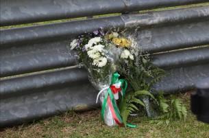 Открытие мемориальной доски в 11 повороте Сепанга, в память о погибшем год назад Марко Симончелли.