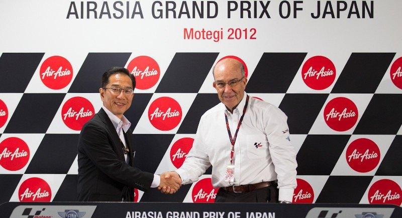 Кармело Эспелета, генеральный директор Dorna Sports и промоутер этапа Гран-При Японии в Мотеги