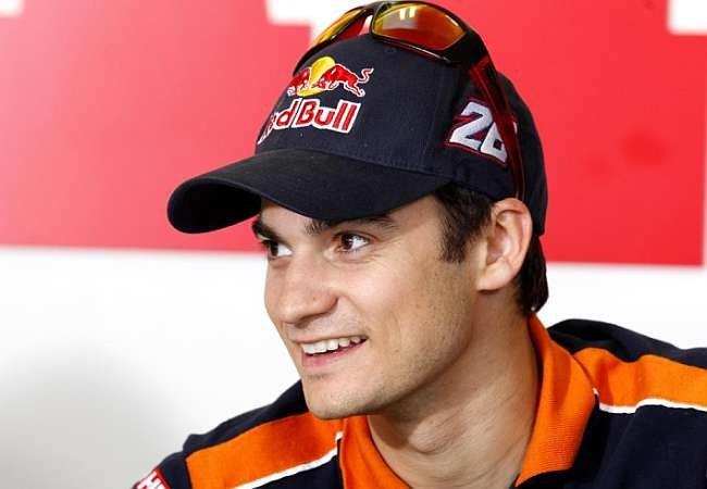 Гонщик MotoGP Repsol Honda Team Дани Педроса