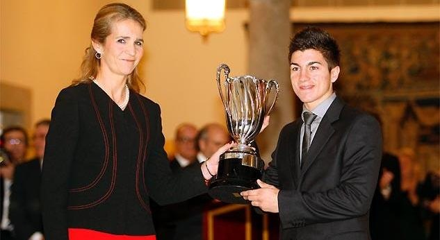 Маверик Виньялес получил награду Прорыв года