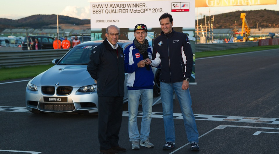 Хорхе Лоренцо - лучший квалифайер MotoGP 2012 года