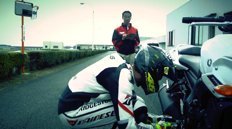 Валентино Росси протестировал Bridgestone Battlax T30
