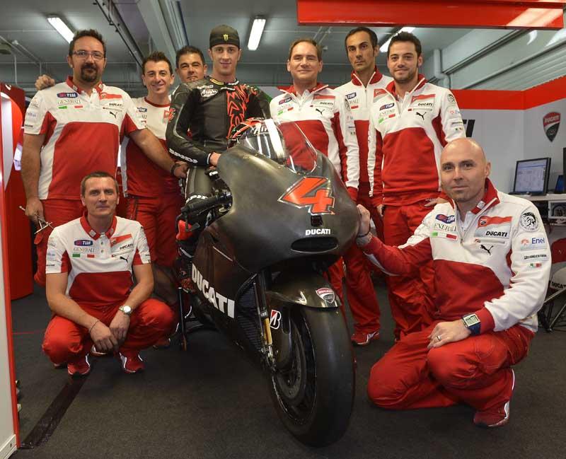 Ducati Team готовится к Wrooom 2013