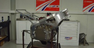 шасси мотоцикла PBM-01