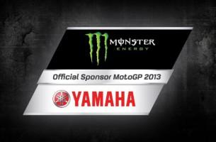 Monster Energy спонсор заводской команды Yamaha!