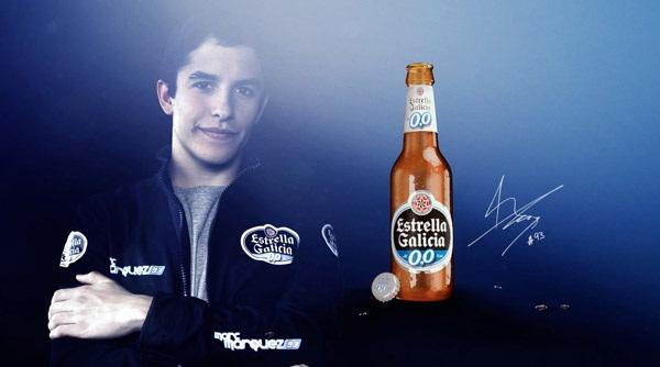 Estrella Galicia 0,0 - новый спонсор команды Honda Repsol