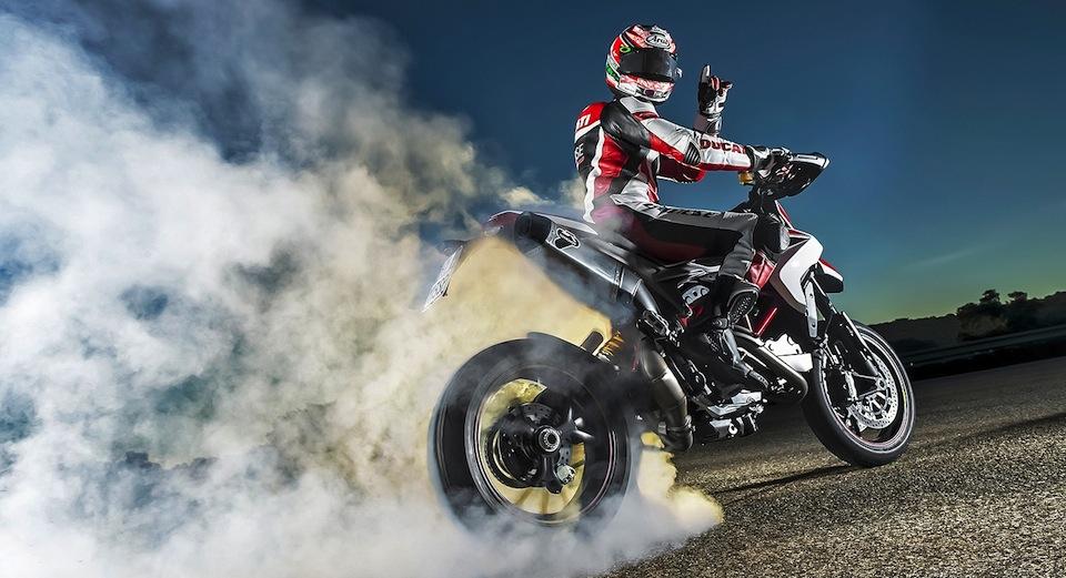 Ники Хэйден представил новый Ducati Hypermotard