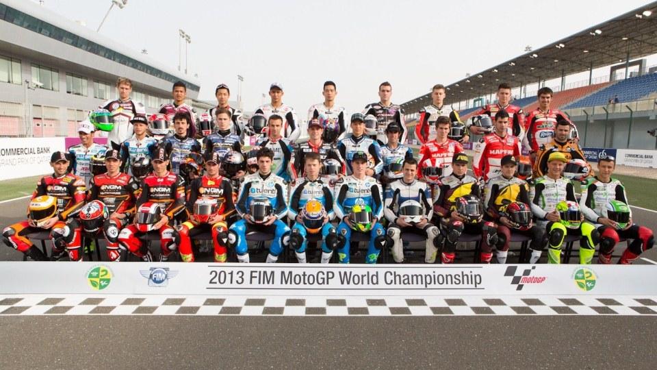 Составы команд Moto2 2012