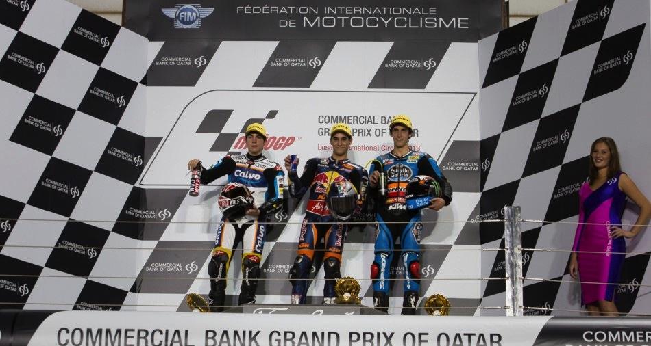 Результаты гонки Moto3 Гран-При Катара 2013