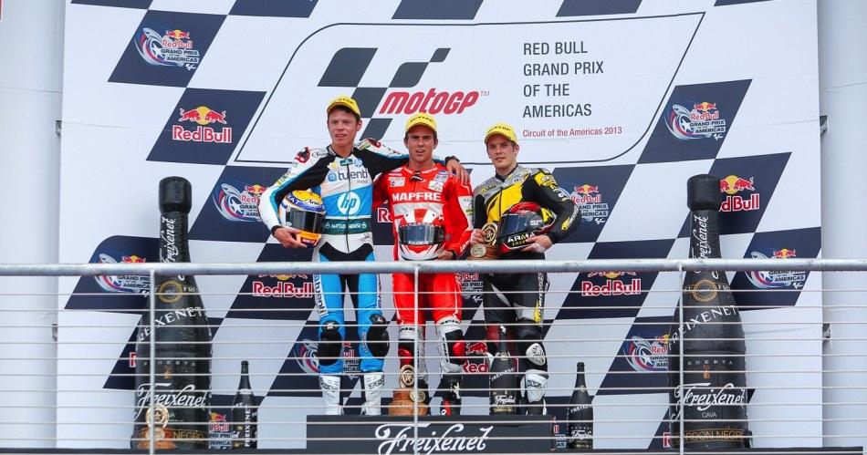 Результаты гонки Moto2 Гран-При Америк 2013