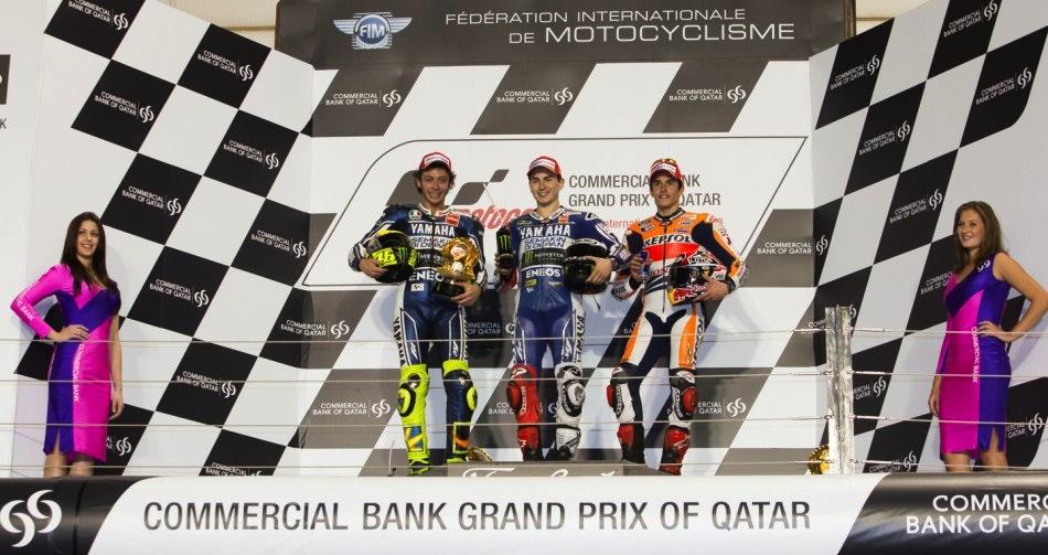 Результаты гонки MotoGP Гран-При Катара 2013