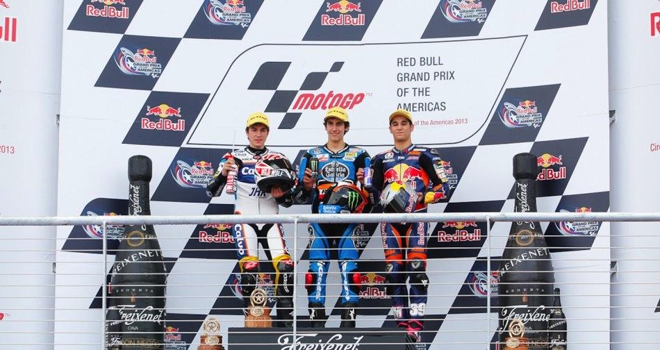 Результаты гонки Moto3 Гран-При Америк 2013