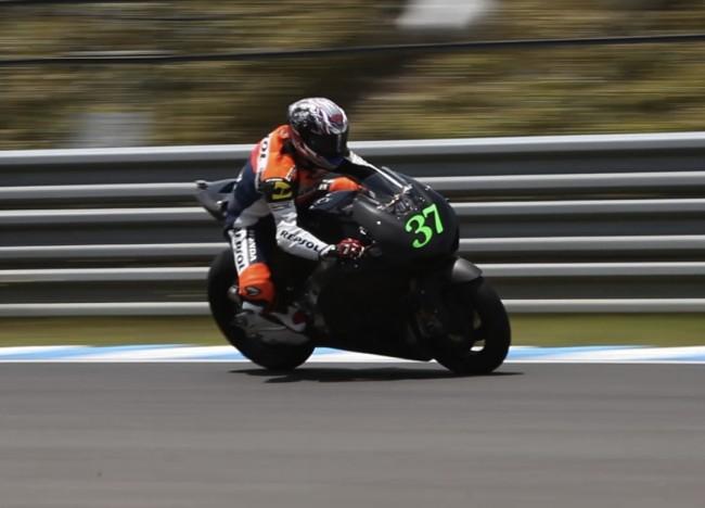 Первые тесты клиентского мотоцикла Honda