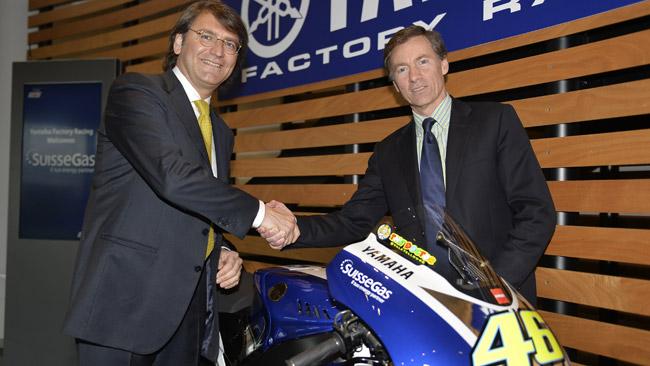 SuisseGas - новый спонсор Yamaha