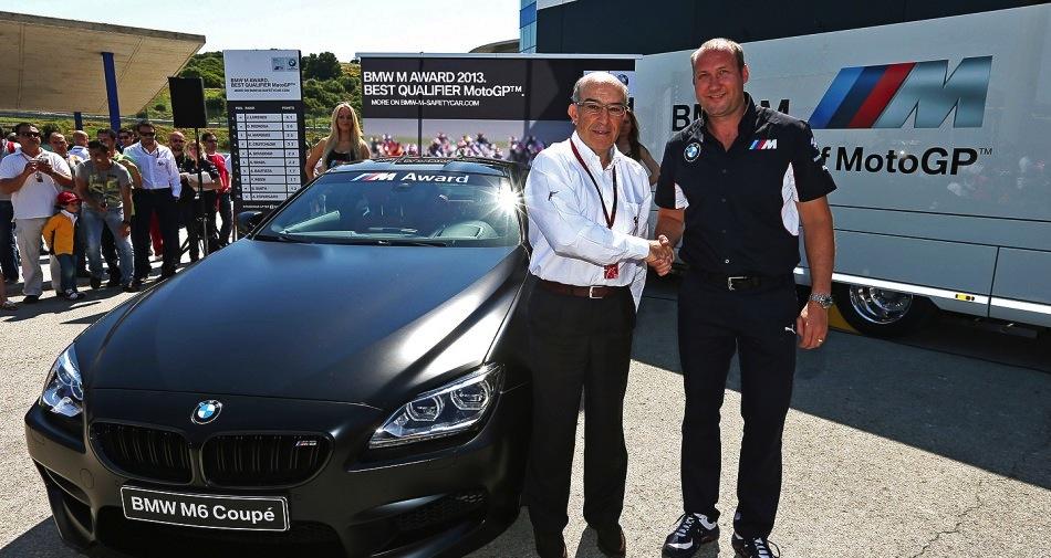BMW M - награда лучшему квалифаеру MotoGP 2013 года