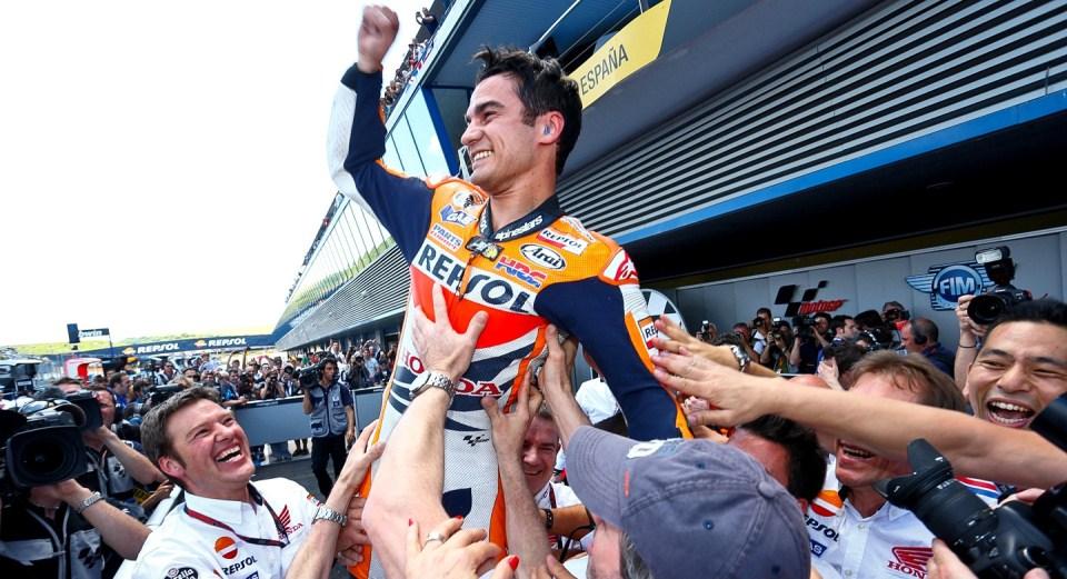Дани Педроса MotoGP Гран-При Испании 2013