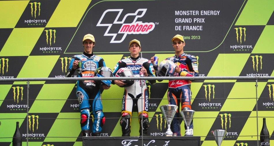 Результаты гонки Moto3 Гран-При Франции 2013