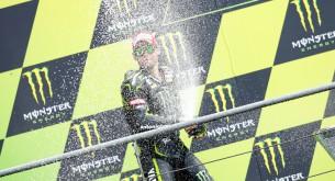 Кэл Кратчлоу подиум MotoGP 2013