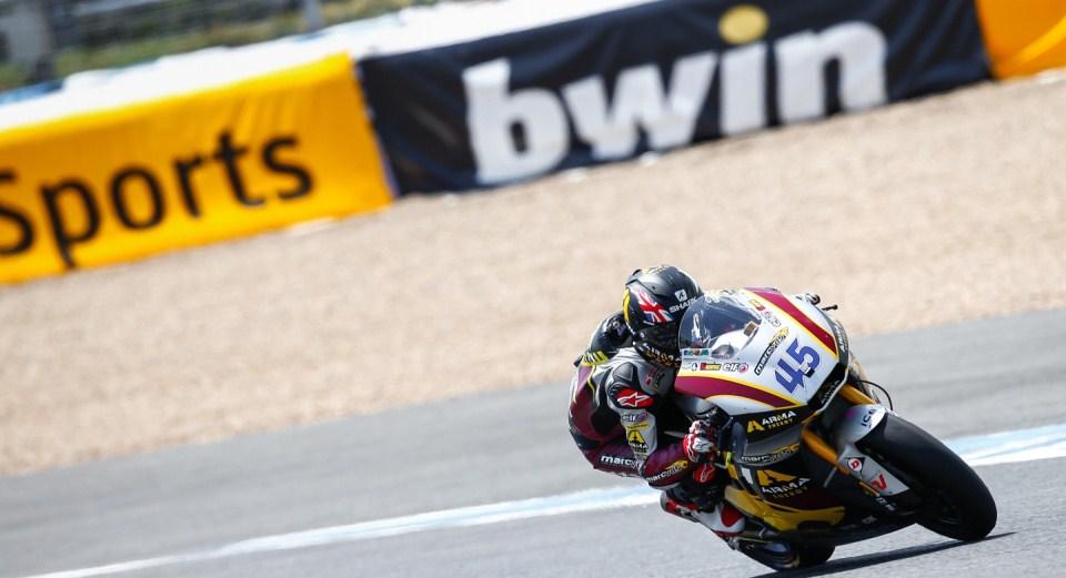 Скотт Реддинг Гран-При Испании 2013 Moto2