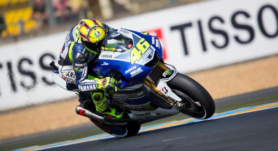 Валентино Росси Гран-При Франции в Ле-Мане 2013