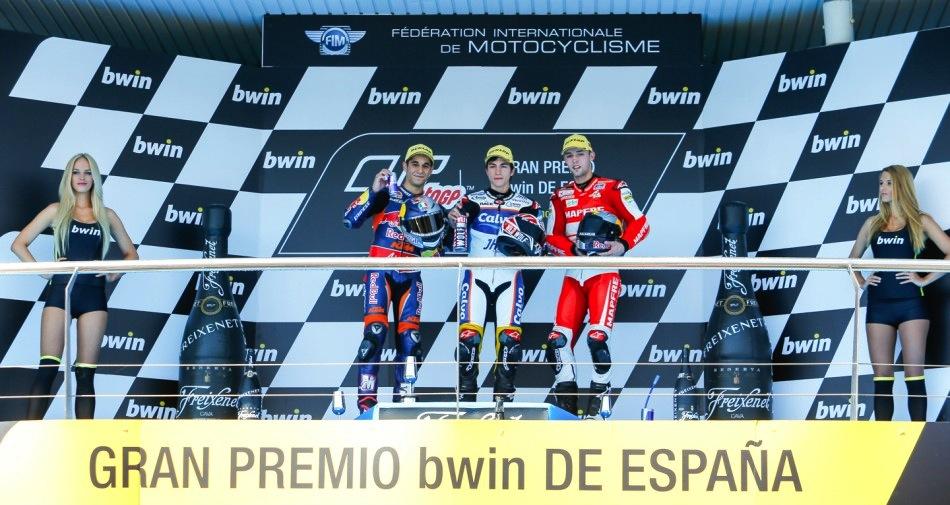 Результаты гонки Moto3 Гран-При Испании 2013